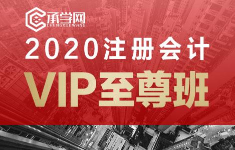 2020注册会计vip至尊班