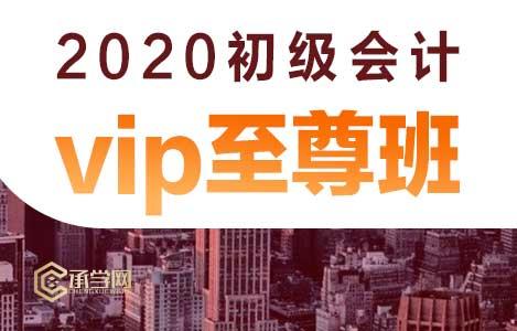 2020初级会计vip至尊